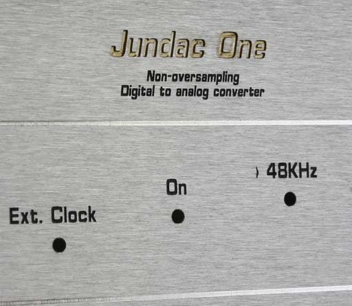 Jundac One - face avant