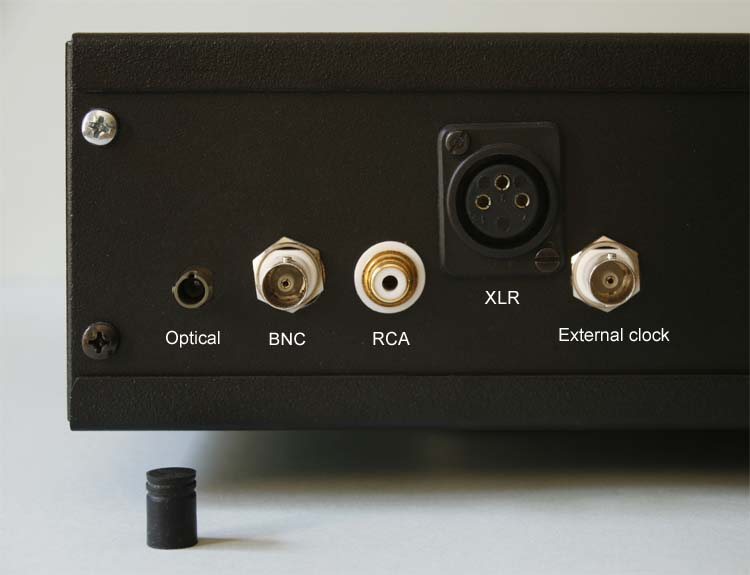 Jundac One DAC - Digital input and external clock for low jitter operation