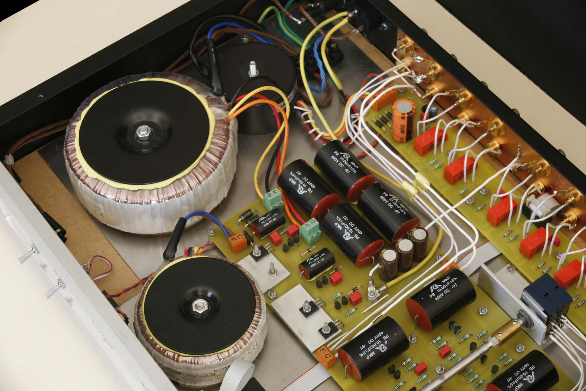 People Power >> High End Audio - Gallery, Preamplifier model 4